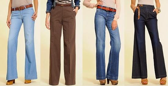 modelos de pantalones de campana, ropa barata, accesorios y complementos de moda