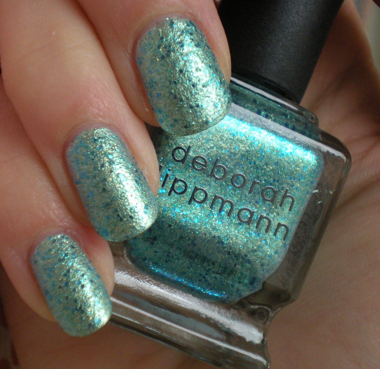 Castinails: Deborah Lippmann Mermaid\'s Dream Swatches