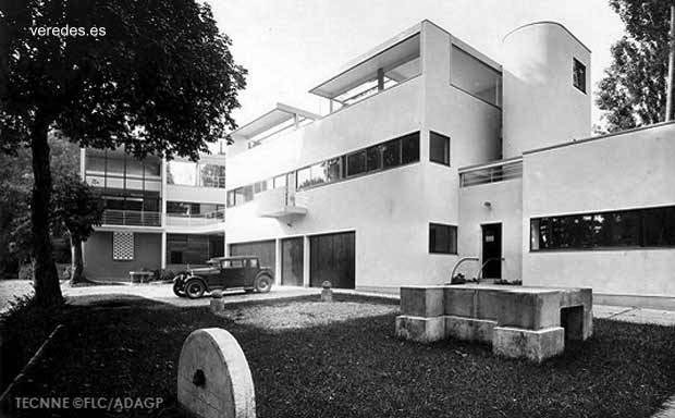 Villa Church diseñada por Le Corbusier en Ville d´Avray
