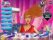 Game cắt tóc Rihanna, chơi game cat toc online