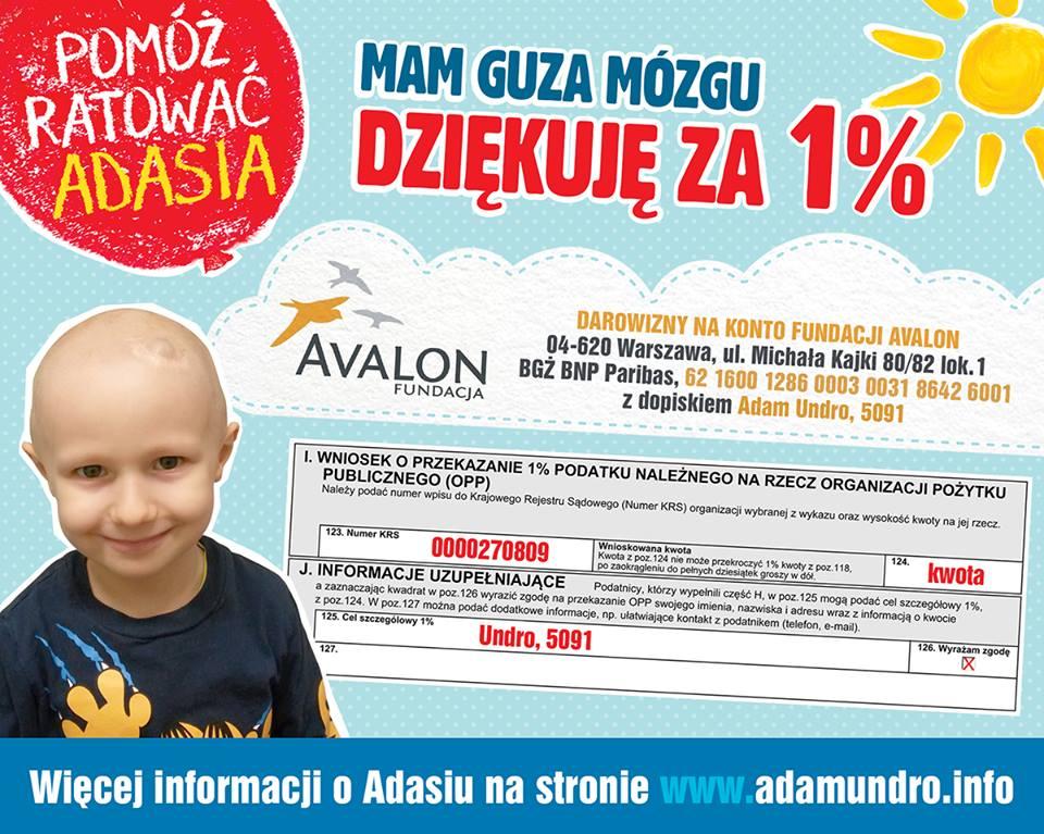 Pomóż ratować Adasia...