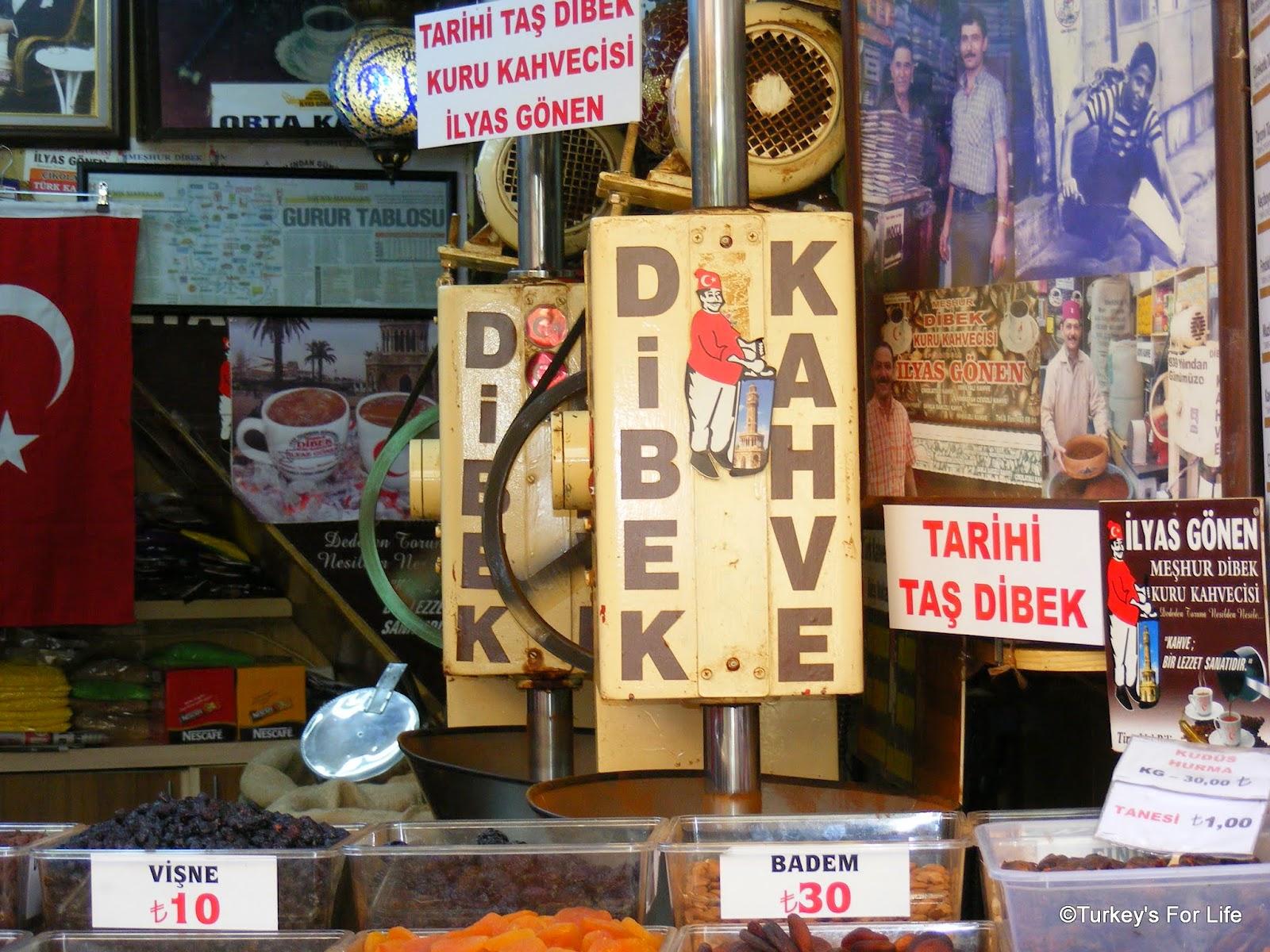 Dibek Kahve, Izmir