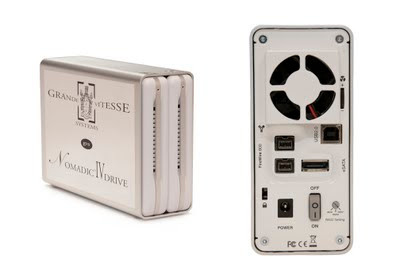 Hot swappable, plug and play, RAID drive enclsoure from GVS.