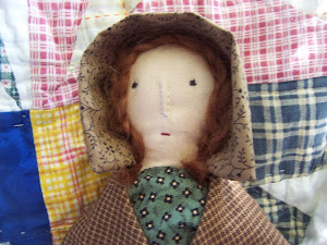 Cora, a 19th Century Reproduction Rag Doll