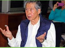 x presidente peruano Alberto Fujimori es internado de urgencia en Lima