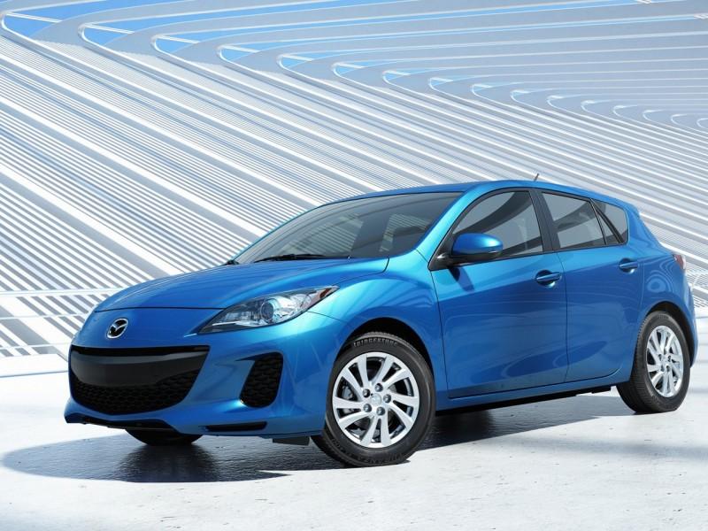 2012 Mazda 3 with SKYACTIV technologies