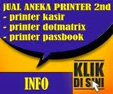 Jual Aneka Printer 2nd