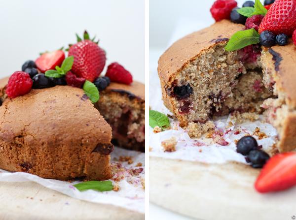 Berry Buttermilk Cake