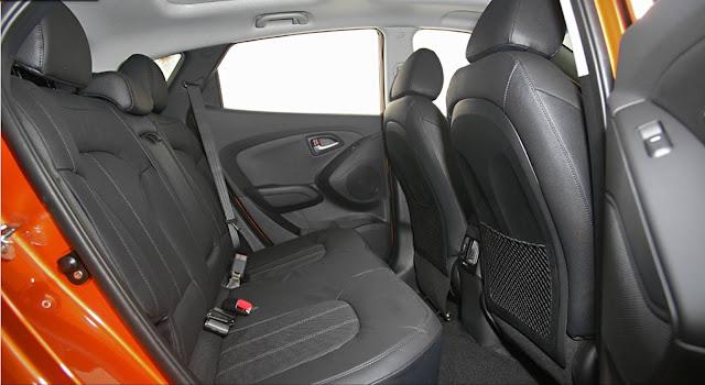 Novo Hyundai ix35 2016 - espaço traseiro