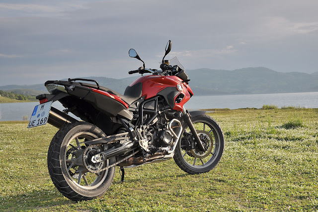 The new BMW F 700 GS and BMW F 800 GS