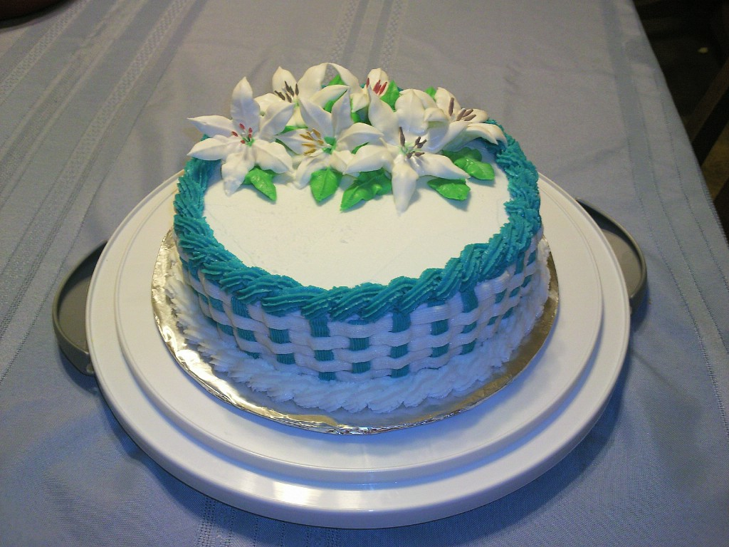 How To Basket Weave Buttercream : Creation s by elena linda cakes