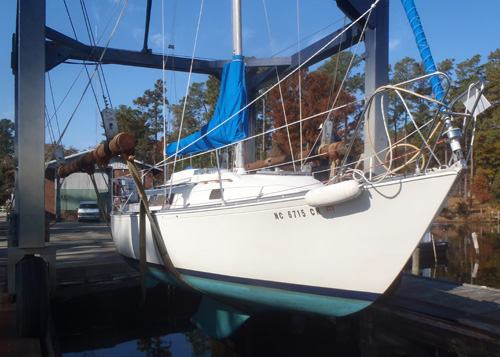 buying a C&C 30' live aboard sailboat