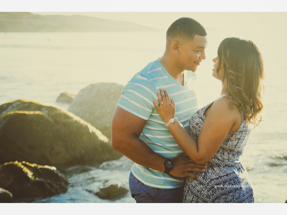 DK Photography LASTWEB-030 Robyn & Angelo's Engagement Shoot on Llandudno Beach { Windhoek to Cape Town }  Cape Town Wedding photographer