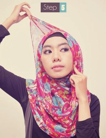 Pashmina Sifon Jilbab Nuhijab Two Side Shawl Cream Cyan 936 X 662 101 ...