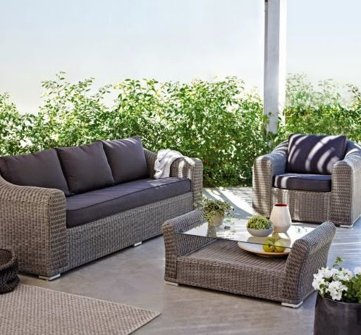 David Dangerous Garden Furniture Sofa