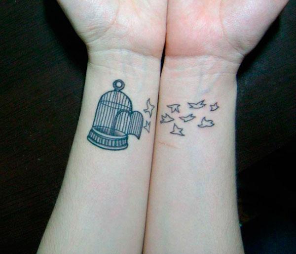 10 tatuagens delicadas para se inspirar pausa pra criatividade - Tatouage couple original ...