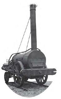 หัวรถจักร Rocket  ของ จอร์จ  สตีเฟนสัน