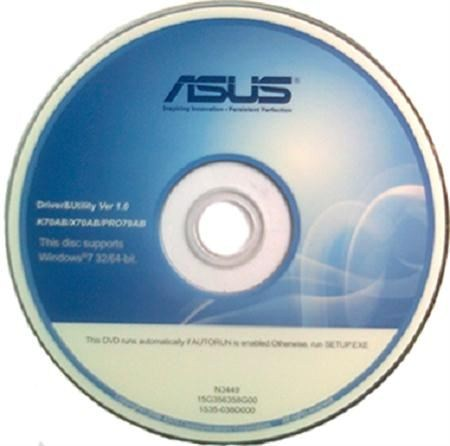 asus driver and utility cd download