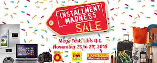 BPI Installment Madness Mega Tent, Sale, installment