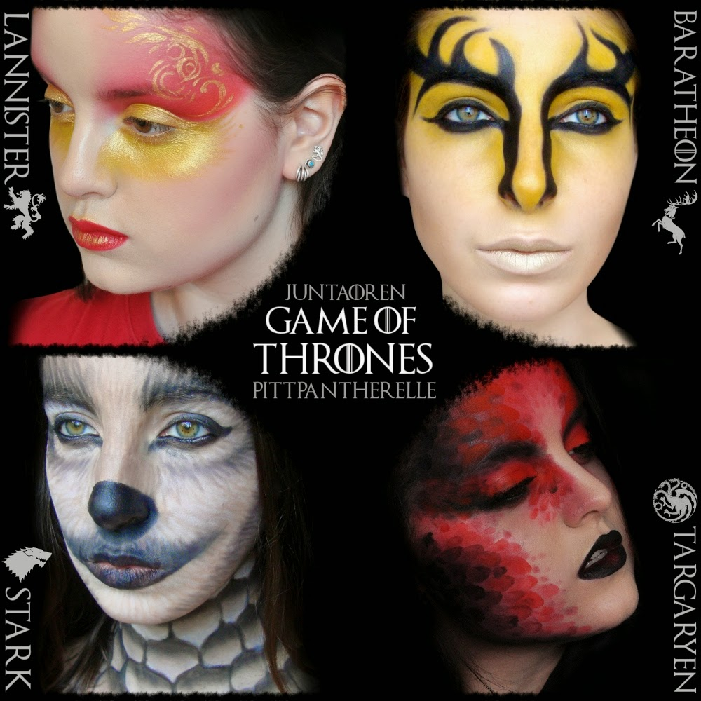 Pittpanthermua game of thrones makeup collaboration closeups and product lists after the jump baditri Images