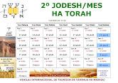 CALENDARIO 2º JODESH/MES 5991/92