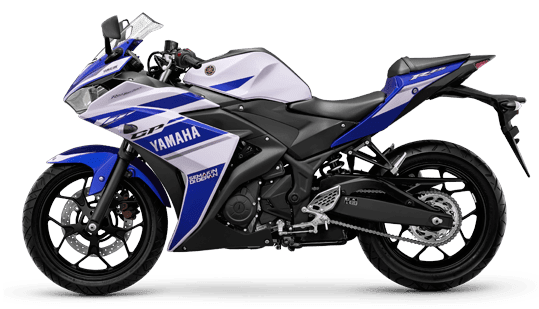 Racing Blue Yamaha R25