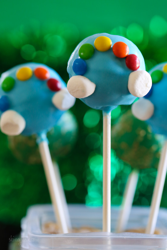 St Patricks Day Cake Pops | Skinnytaste