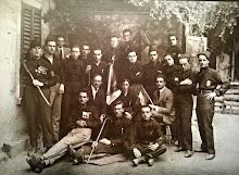 """Squadristi del Fascio di Combattimento di Trezzo sull'Adda. Squadra d'Azione """"Meazzi""""."""