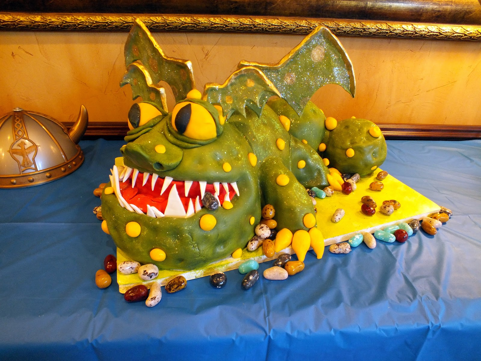Cake By The Lake How To Train Your Dragon Cake