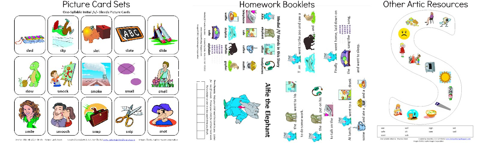 Winter Open-Ended Articulation Worksheets for Speech Therapy | TpT