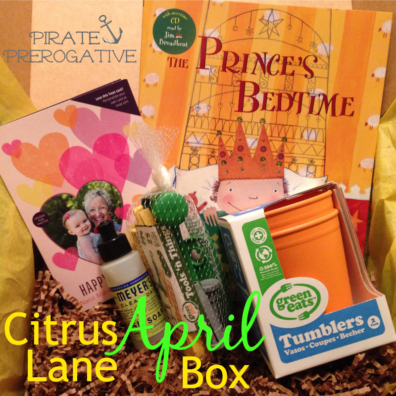 See what came in the April Citrus Lane Box!