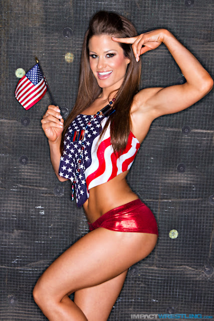 TNA Knockout Miss Tessmacher