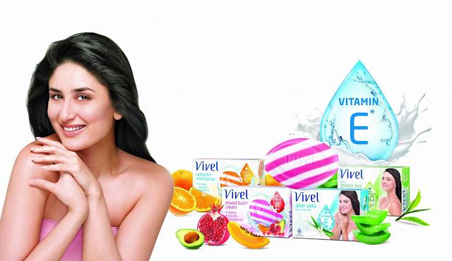 Vivel Soaps and Brand Ambassaor Kareena Kapoor