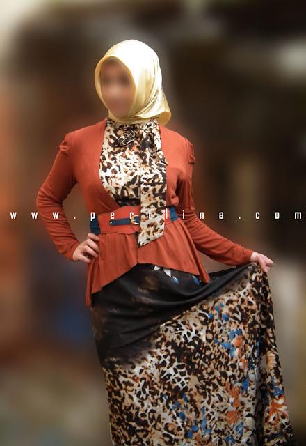 Alvina 2li Leopar Desenli Elbise Laciver Kemer Şeridi,alvina online satış