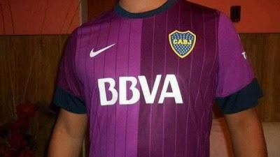 Nueva camiseta de Boca verano 2013