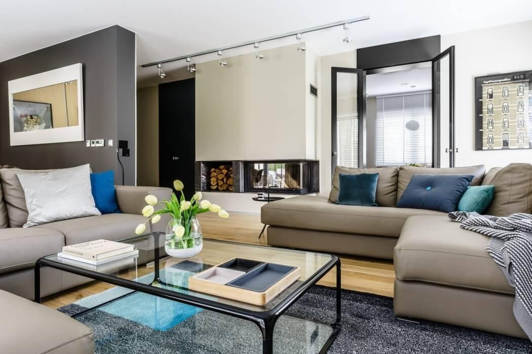 En resumen, se trata de un salón moderno , con mucho estilo, bello y
