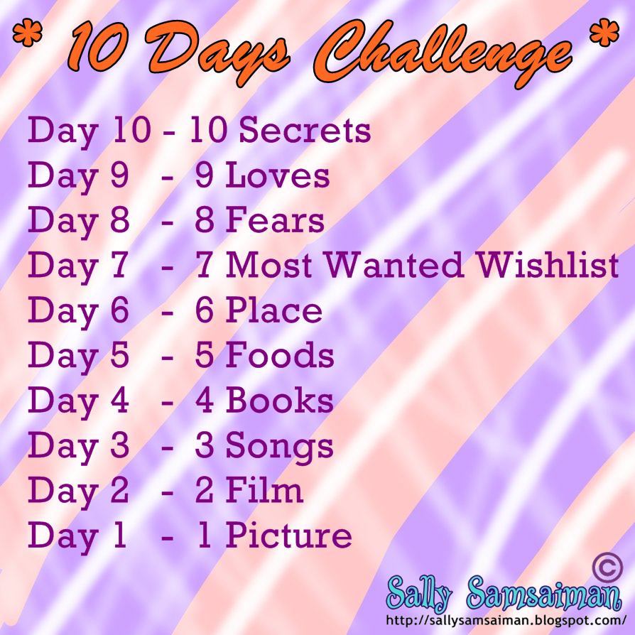 10 day challenge day 1
