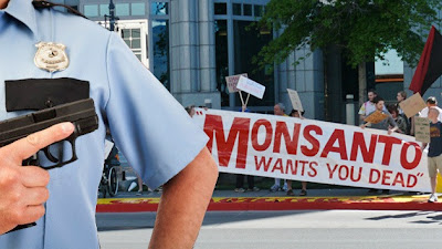 Monsanto, Gobierno de EE.UU. y Ejército, unidos contra los ecoactivistas