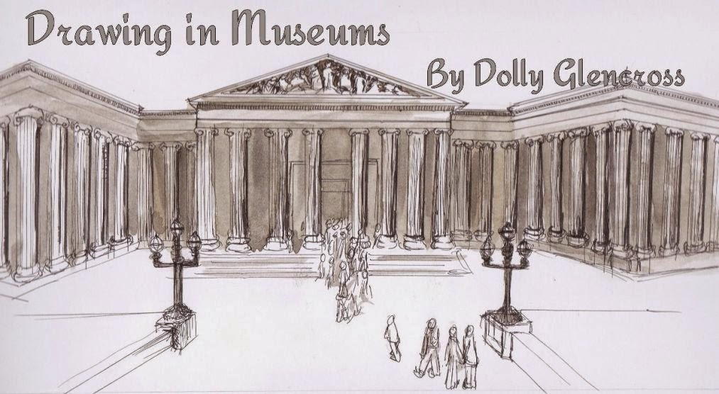 Drawing in Museums by Dolly Glencross