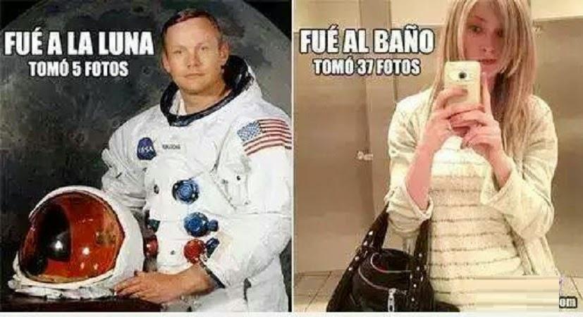 La luna vs El baño