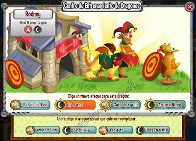 imagen de los ataques del dragon joker-bufon