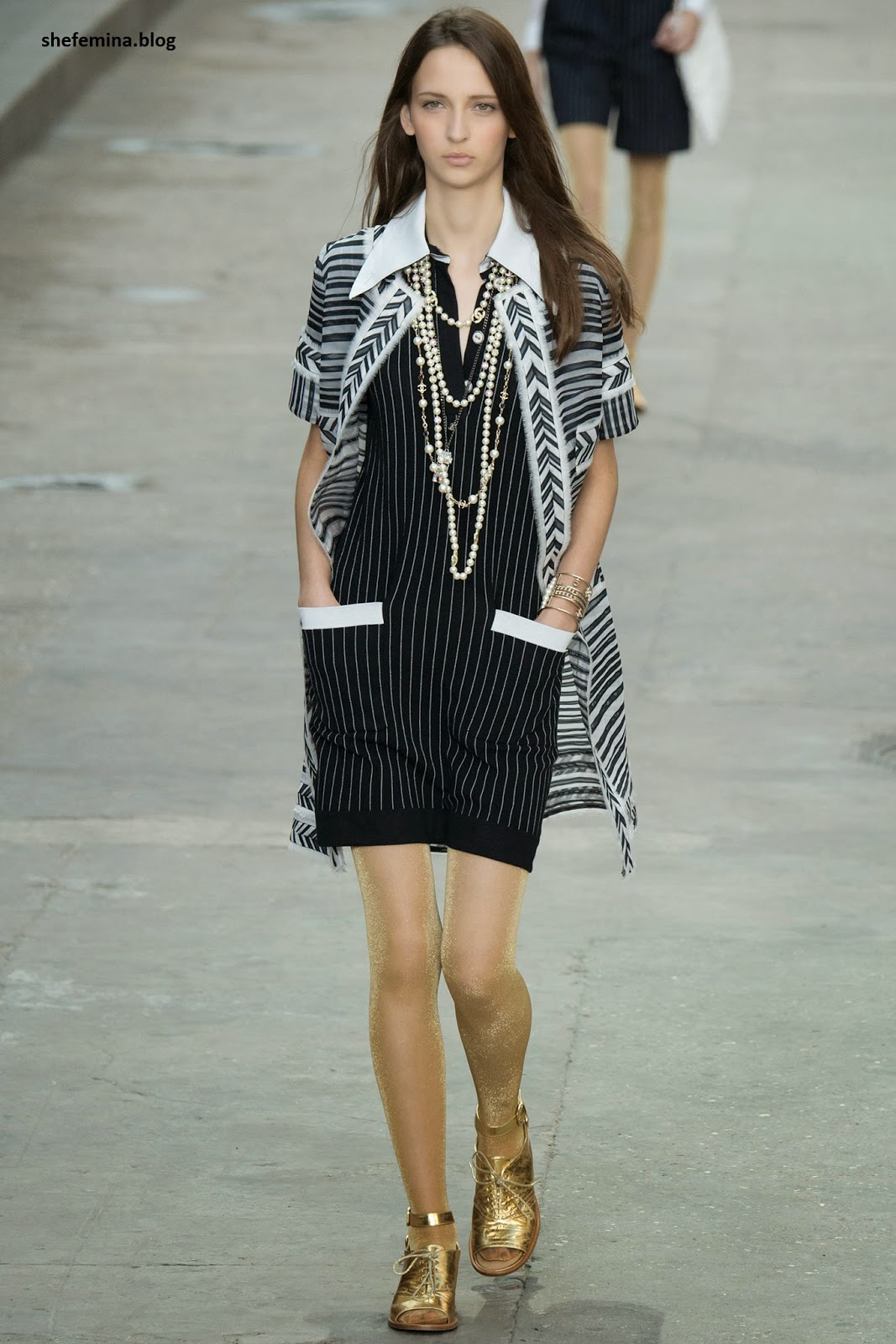Chanel Spring 2015 dresses HD wallpaper 25
