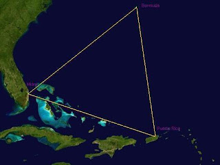 Peta Segitiga Bermuda