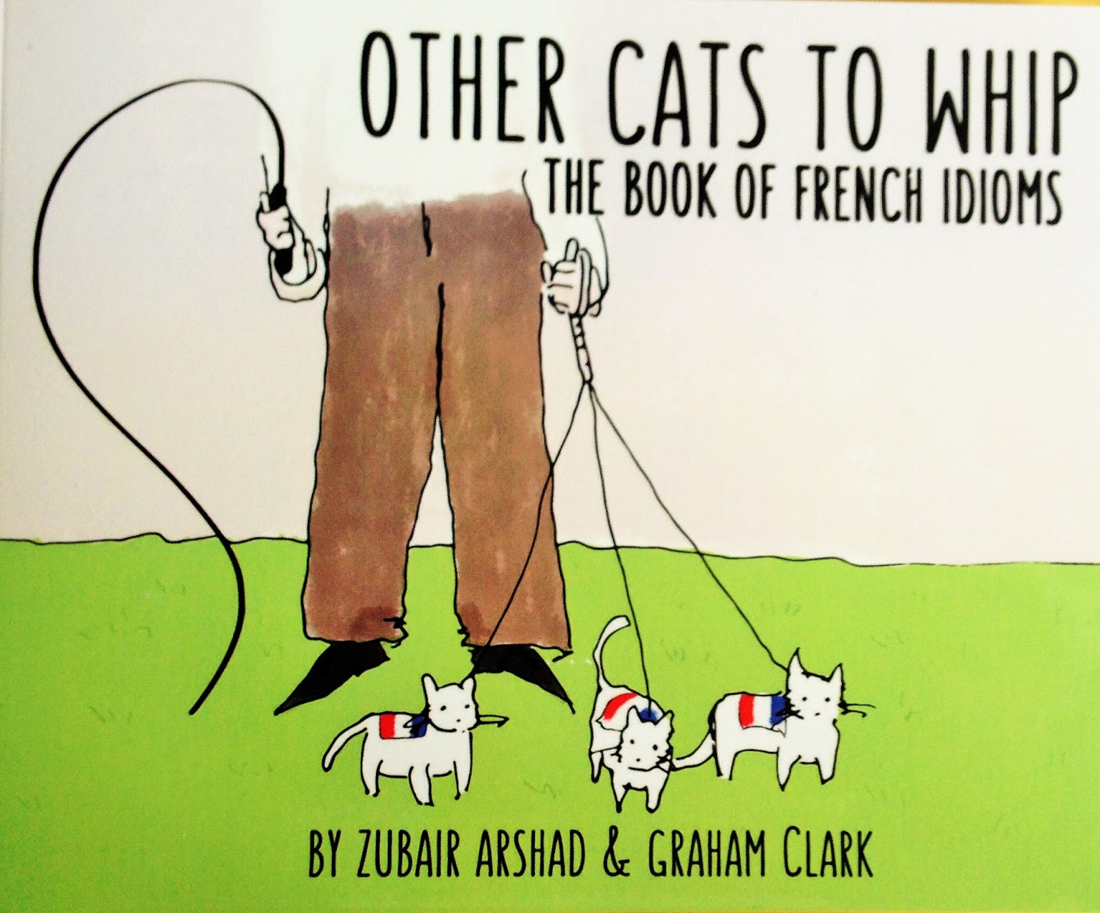 my languages review other cats to whip the book of french idioms i just love idioms they are a part of everyday life and often give you a real insight into the target language culture but how often do we think about