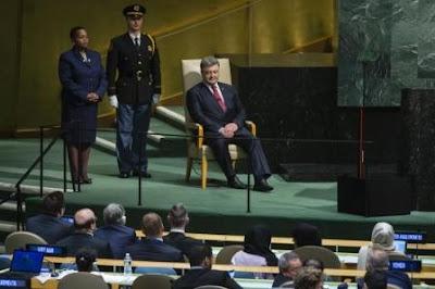 Президент Украины сообщил, что простыл в Нью-Йорке