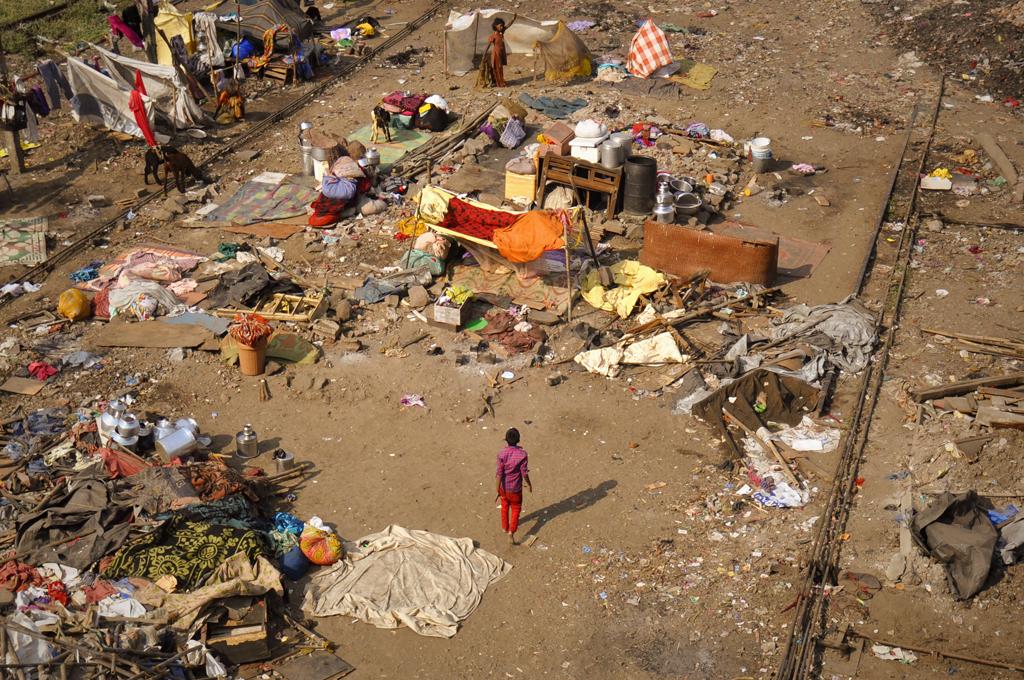 Slum photo from Wadala in Mumbai