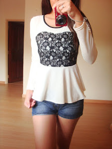 Miss Peplum Lace Top (Promo Now !!!)