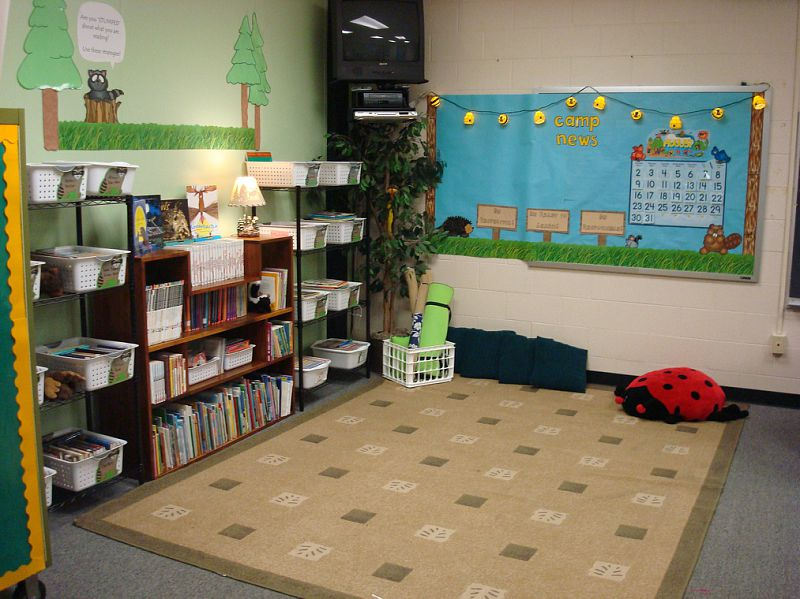 Camping Classroom Decorations ~ Camping themed classrooms clutter free classroom