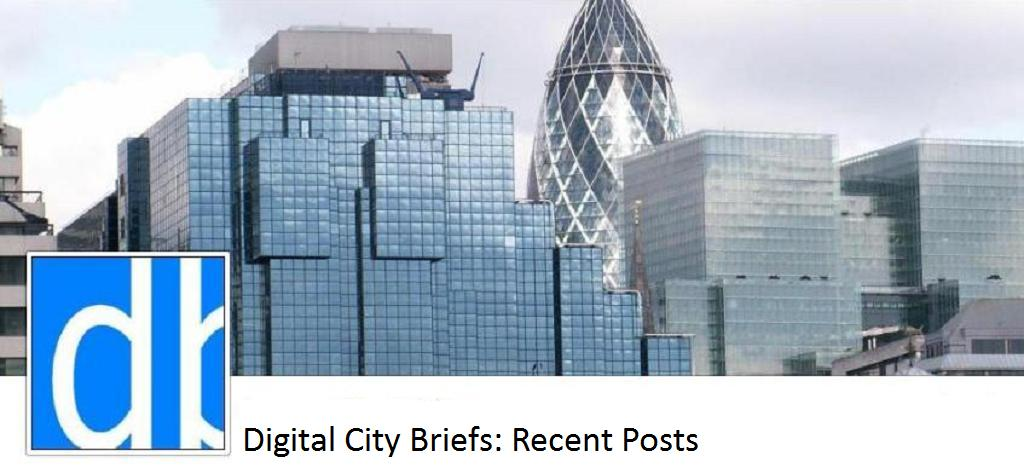 Digital City Briefs: Recent Posts