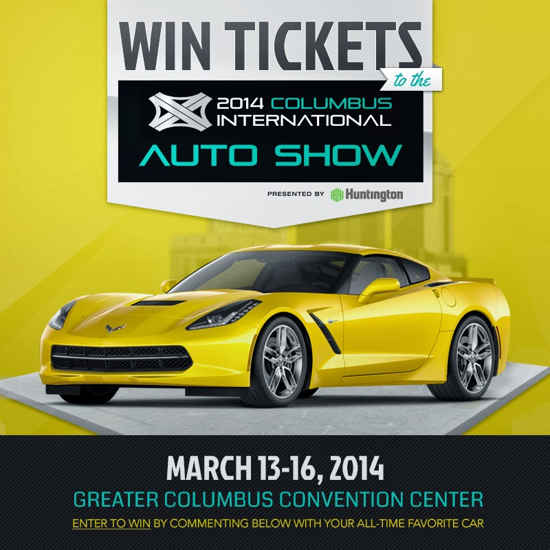 WIN Tickets to the Columbus Auto Show